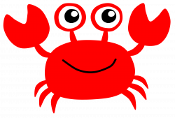 Crab clipart cute