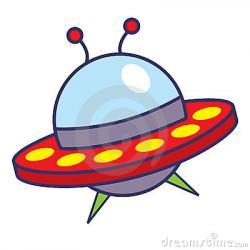 Drawn spaceship comic