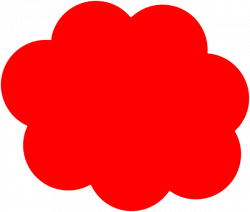 Red Cloud clipart