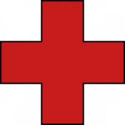 Red Cross clipart allowed