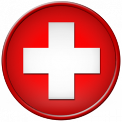 Red Cross clipart round