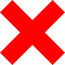 Red Cross clipart transparent