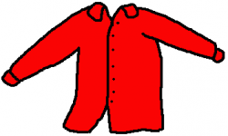 Red Dress clipart animation