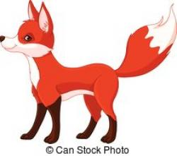 Jackal clipart red fox