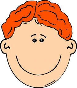 Ginger clipart red hair boy