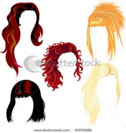 Red Hair clipart hairstyle