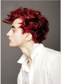 Red Hair clipart mens hair