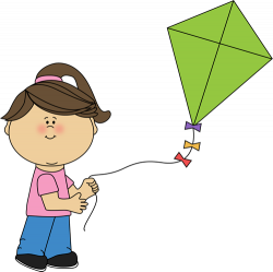 Kite clipart cute