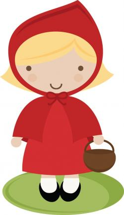 Hood clipart little red riding hood wolf