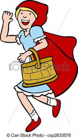 Red Riding Hood clipart cape