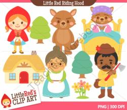 Red Riding Hood clipart folktales