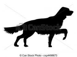 Red Setter clipart coated