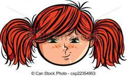 Redhead clipart red hair