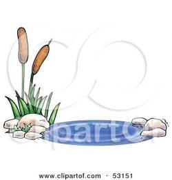 Reed clipart pond plant