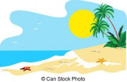 Island clipart seaside