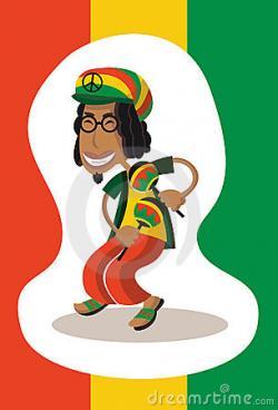 Men clipart reggae