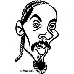 Caricature clipart reggae