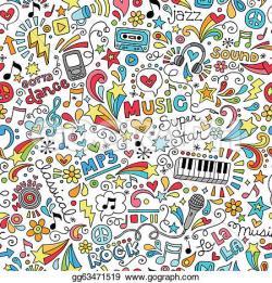 Reggae clipart doodle