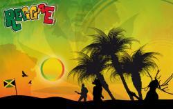Reggae clipart jamaican