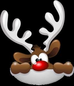 Fun clipart reindeer
