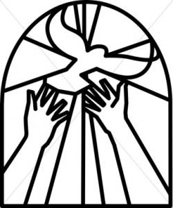 Religion clipart black and white