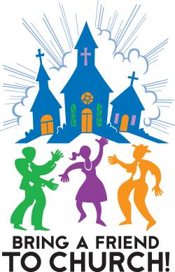 Religion clipart church family and friend day