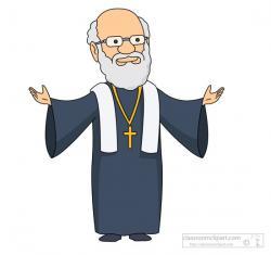 Christ clipart priest