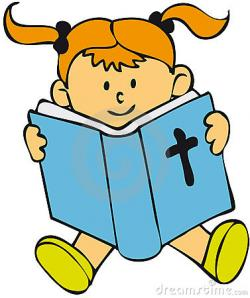 Religion clipart kid bible