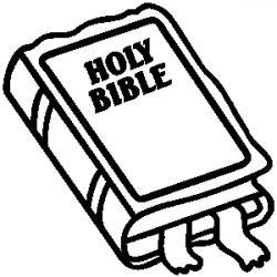 Scripture clipart black and white