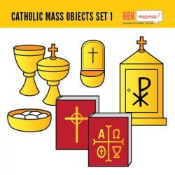 Altar clipart catholic mass