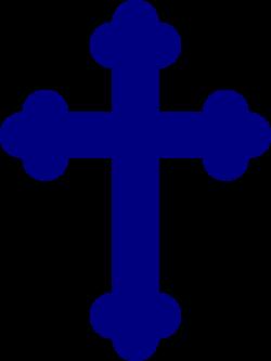 Christ clipart blue cross