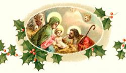 Religious clipart merry christmas