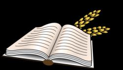 Scripture clipart open bible