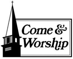 Steeple clipart worship service