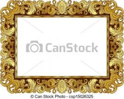 Renaissance clipart frame