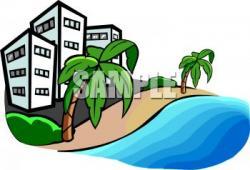 Hotel clipart beach hotel