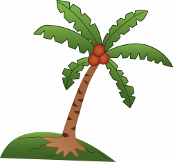 Roots clipart coconut