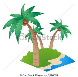 Resort clipart coconut tree