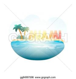 Resort clipart miami beach