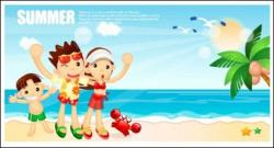 Resort clipart seaside