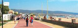 Resort clipart sunny beach