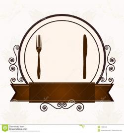 Cutlery clipart restaurant menu