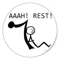Resting clipart musical