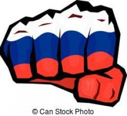 Drawn fist russian