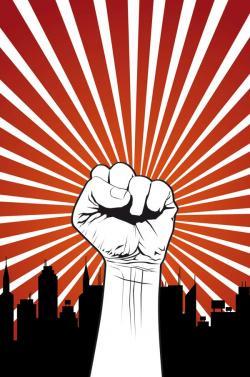 Revolution clipart strike