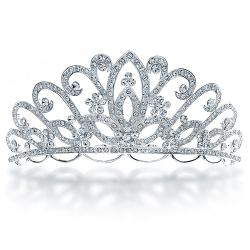 Silver clipart princess crown