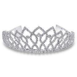 Rhinestone clipart silver crown