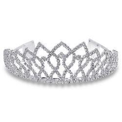 Rhinestone clipart silver tiara