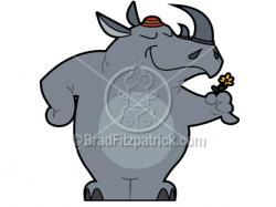 Rhino clipart