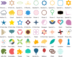 Rhomb clipart 2d shapes